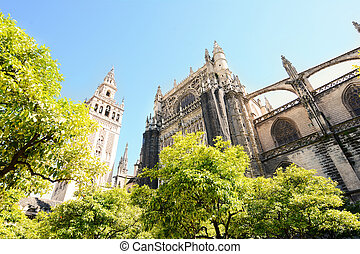 Cathedral of Seville, Spain.