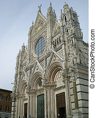 Cathedral of Siena in Italy