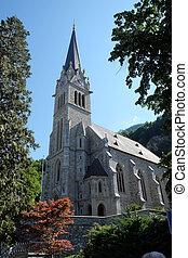 Cathedral of St. Florin in Vaduz, Liechtenstein