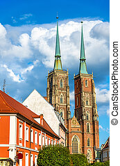 Cathedral of St. John the Baptist in Wroclaw, Poland