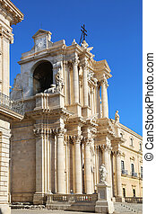 Cathedral of Syracuse Sicily