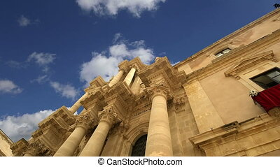 CATHEDRAL OF SYRACUSE.Sicily,Italy - CATHEDRAL OF SYRACUSE...