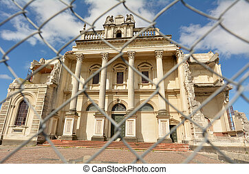 Cathedral of the Blessed Sacrament, Christchurch New Zealand...