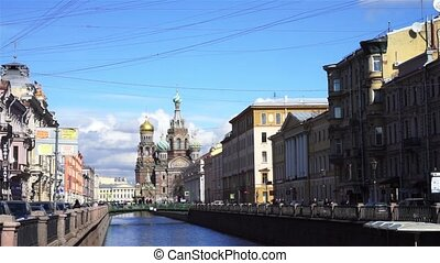 Cathedral of the Resurrection of Christ, Griboyedov channel, Saint Petersburg