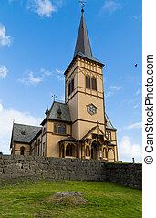 Cathedral of Vagan kirke  Lofotkatedralen