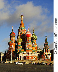 Cathedral of Vasily the Blessed, Red Square, Moscow, Russia