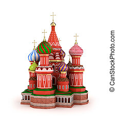 Cathedral on the Red Square in Moscow, Russia