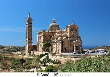 Cathedral on the sea coast