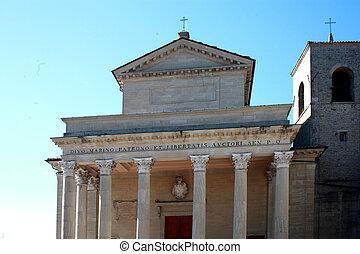 cathedral republic of san marino