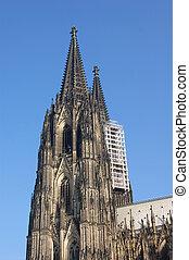 Cathedral Restore - Restoration work being undertaken at...