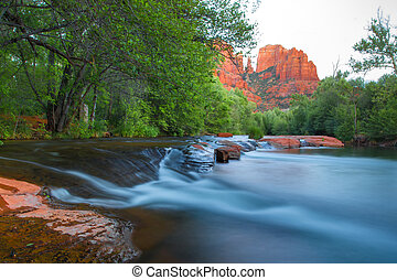 Sedona Arizona - Cathedral Rock and Oak Creek, Sedona...