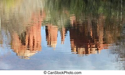 Cathedral Rock Reflection Loop - Seamless loop features the...