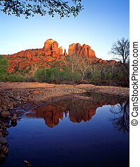 Cathedral Rock#4 - Cathedral Rock and Oak Creek, in the ...