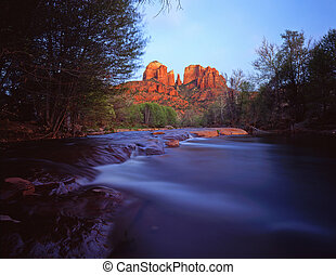 Cathedral Rock#5 - Cathedral Rock and Oak Creek, in the ...
