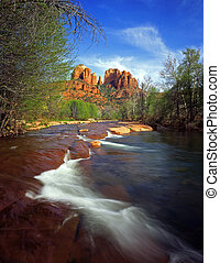 Cathedral Rock#7 - Cathedral Rock and Oak Creek, in the ...