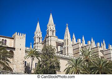 Cathedral San Seu in  Palma de Mallorca