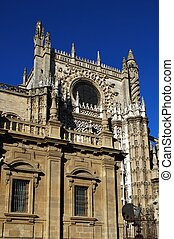 Cathedral, Seville, Spain.