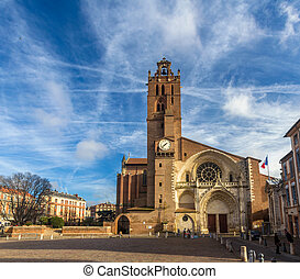 Cathedral St. Etienne of Toulouse - France