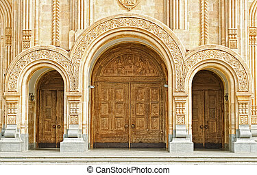 cathedral st. trinity - The biggest orthodox cathedral. St....