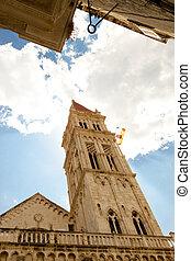 Catherdal of st. lawrence in Trogir, Croatia.