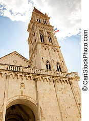 Catherdal of st. lawrence in Trogir
