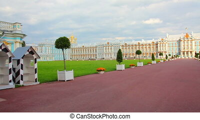 Catherine Palace in Pushkin, St. Petersburg