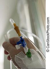 catheterization, auf, arm