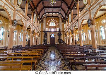 Catholic Cathedral Interior