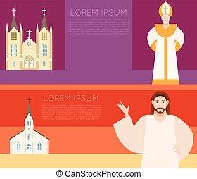 Catholic Church Banner