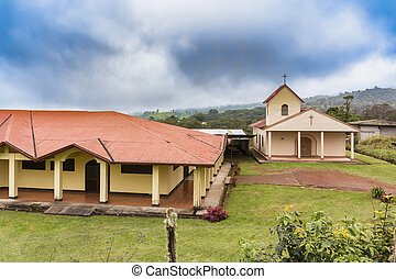 Catholic church de Vara Blanca in Costa Rica - Iglesia de...