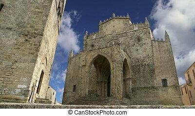 Catholic Church. Erice,Sicily - Medievel Catholic Church....