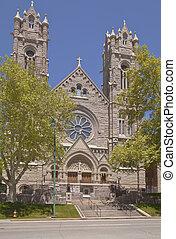 Catholic church in Salt Lake city Utah.