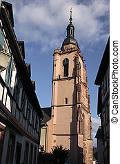 Church in the old town of Eltville