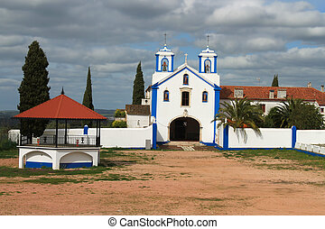 Catholic church in Vila Vicosa, Portugal