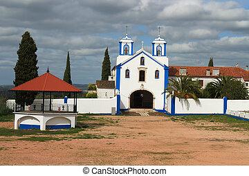 Catholic church in Vila Vicosa, Portugal