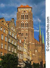 Catholic church of St Mary in Gdansk