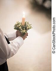 Catholic first communion ceremony - Catholic first communion...
