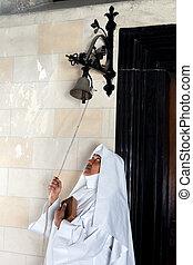 Catholic mass is beginning - When catholic mass begins it is...