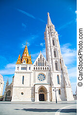 Catholic Matthias Church, landmark of Budapest