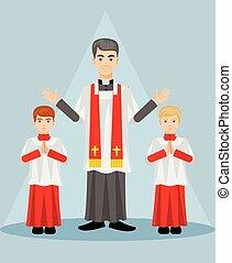 catholic priest