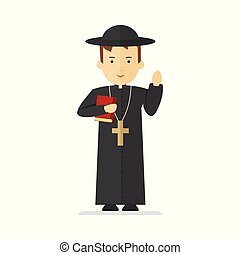 catholic priest character