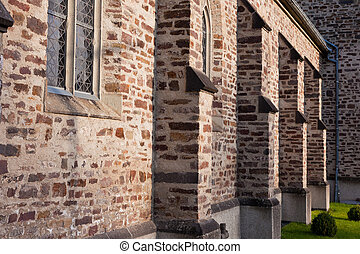 Catholic stonewall church