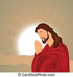 catholique, christ, jésus