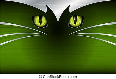 Cat's eyes background