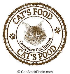 Cat's food stamp