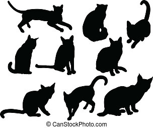 cats - vector