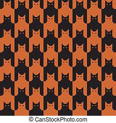 CatsTooth_Orange-Black