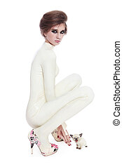 catsuit , μοντέλο , κόμμι