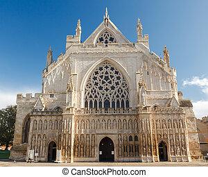 cattedrale, devon, inghilterra, regno unito, exeter