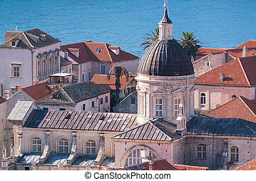 cattedrale, dubrovnik, assunzione, mary vergine